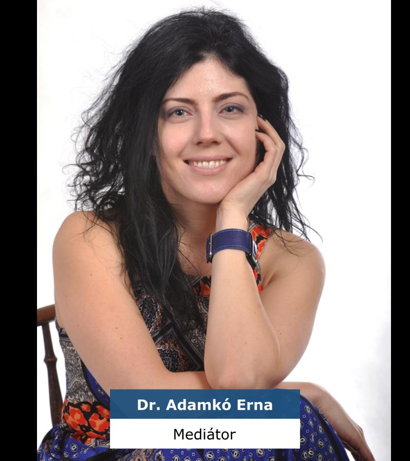 Adamkó Erna - párkapcsolati és válási mediátor